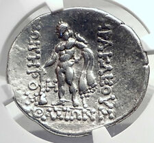 THASOS Thrace 148BC Authentic Ancient Silver Greek Tetradrachm Coin NGC i72601