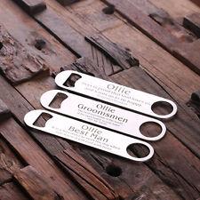 personalized bottle opener in