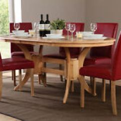 Oak Kitchen Tables Island Cart Ikea Ebay Modern