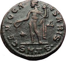 MAXIMINUS II Daia as Filius Augustorum 308AD Ancient Roman Coin w GENIUS i70710