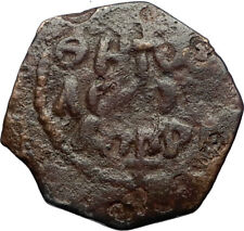 CRUSADERS of Antioch Tancred Ancient 1101AD Byzantine Time Coin St Peter i69660