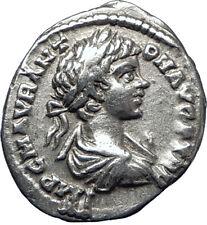 CARACALLA 198AD  Silver Authentic Genuine Ancient Roman Coin MONETA i70271