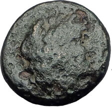APOLLONIS in LYDIA Authentic Ancient Greek Coin HERCULES Thunderbolt i63640
