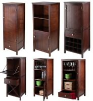 Stylewell Ivory Wood Transitional Kitchen Pantry 46 In W X 36 H Ebay