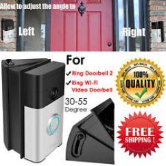 Ring Doorbell For Sale Jayco Tent Trailer Wiring Diagram Steel School Doorbells Ebay Adjustable Adapter Corner Kit Mounting Plate Wi Fi Video Wedge