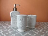Hotel Collection Ceramic Bathroom Soap Dishes & Dispensers ...