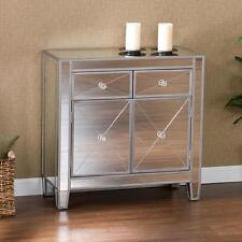 Mirrored Living Room Wall Ideas Pictures Mirror Cabinets Cupboards Ebay Console Table Finish Storage Accent Cabinet Decor Doors Drawers Tables