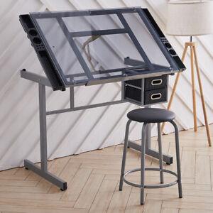 https www ebay co uk b glass drafting table home office furniture 88057 bn 63879987