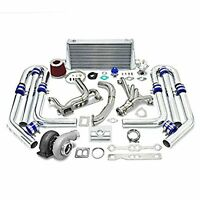 Turbo-Guard GT45 TURBO CHARGER MANIFOLD KIT CHEVY SMALL