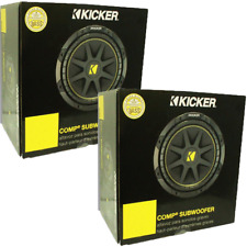kicker solo baric l7 15 wiring diagram dictator 10 inch car subwoofers ebay pair of comp 10c104 600 watt 4 ohm fast