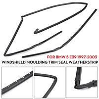 GENUINE BMW E39 5-Series Glass Windshield Moulding Trim