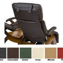 Human Touch Chairs Graco High Chair Elephant Ebay Espresso Back Cover For Zero Gravity Recliner