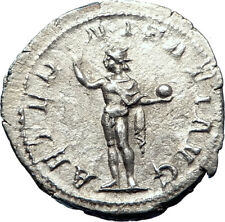 GORDIAN III 240AD Rome Authentic Ancient Silver Roman Coin SUN GOD SOL  i73266