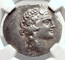 THASOS Thrace 148BC Authentic Ancient Silver Greek Tetradrachm Coin NGC i72635