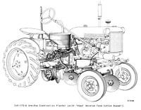 IH Farmall Gear Shift Knob A B C H M Cub 140 200 Super 300