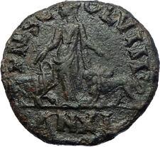 TRAJAN DECIUS 249AD Viminacium Legion Ancient Roman Coin BULL & LION i73635