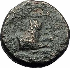 LYSIMACHOS 306BC Thrace King Authentic Ancient Greek Coin ATHENA & LION i63103