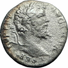 SEPTIMIUS SEVERUS 197AD Rome Silver Ancient Roman Coin FORTUNA Unlisted  i77305