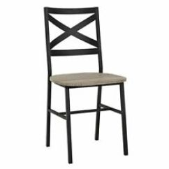 Modern Metal Chairs Grey Nursery Chair Uk Dining Ebay Walker Edison Ch18ai2ag X Back Wood Set Of 2 Driftwood