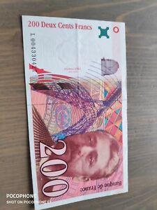 Billet De 200 Francs : billet, francs, Billets, Francs, Français