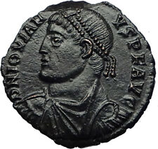 JOVIAN Authentic Ancient 363AD Heraclea Genuine QUALITY Roman Coin WREATH i69262