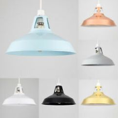 Kitchen Shades Faucet Kohler Light Shade Ebay Modern 31cm Industrial Ceiling Pendant Lampshade Led Bulb