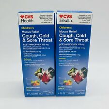 Syrup CVS Over-The-Counter Cough Cold & Flu Medicine for ...