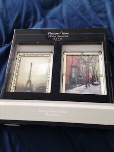 Parisian Home Frames : parisian, frames, Enamel, White, Frame, Picture, Frames, Stock