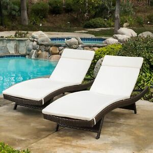 polyester chaise lounge patio furniture