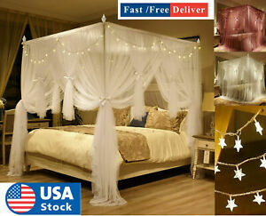 queen size bed netting canopies for