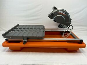 ridgid wet tile saws for sale in