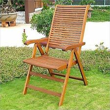 wooden patio folding chairs for sale