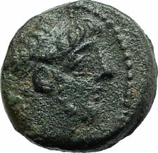 ANTIOCHOS IX Kyzikenos Authentic Ancient Seleukid Greek Coin Thunderbolt i75705