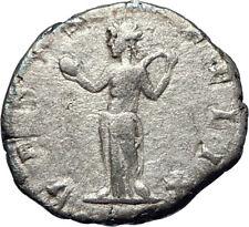 JULIA DOMNA 196AD Authentic Silver Ancient  Roman Coin VENUS Fertility i73583