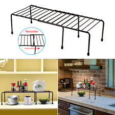 kitchen counter rack prep sink countertop shelf in racks holders ebay expandable cabinet organizer storage bowls