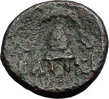 DEMETRIOS I Poliorketes MACEDONIA King Shield Helmet Ancient Greek Coin i60570