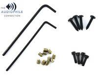 QTY-6 SET SCREW screws for Old School Rockford Fosgate amp