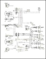 1975 Chevy P30 GMC P35 Motorhome Wiring Diagram Foldout