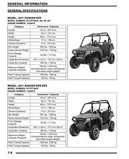 Polaris Ranger Motorcycle Repair Manuals & Literature for