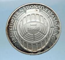 1973 GERMANY Proof Silver 5 Mark German Coin FRANFURT PARLIAMENT BUILDING i68591