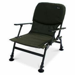 Fishing Chair No Arms Cover Rentals Guelph Chairs Bed Ebay Abode Easy Arm Carp Seat Camping Folding