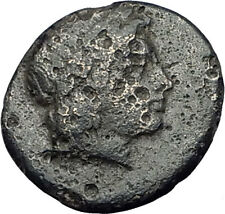 Kolophon Colophon IONIA 360BC Authentic Ancient Greek Coin APOLLO & HORSE i63086