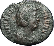 Saint HELENA - Constantine the Great Mother Authentic Ancient Roman Coin i68098