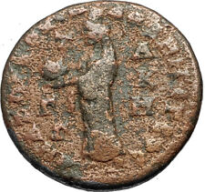 VALERIAN I Authentic Ancient 253AD Anazarbus in Cilicia Roman Coin TYCHE i67600