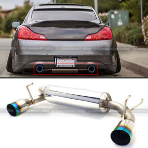 axle back car and truck exhaust systems