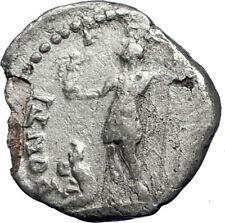 CARACALLA 199AD  Rome Silver Authentic Genuine Ancient Roman Coin i69860