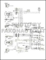1980 Ford F-600-800 Cowl truck Wiring Schematic Service