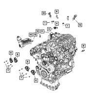 Mopar Genuine OEM Engine Computers for Chrysler 200 for