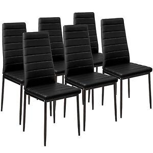 chaises de salle a manger ebay