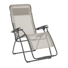 xl zero gravity chair with canopy sliding pillow folding side table desk executive brown patio lawn chairs for sale ebay lafuma futura outdoor steel framed recliner seigle